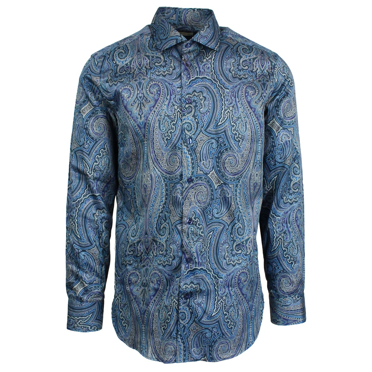 Camicia Spread slim-fit Navy Etro