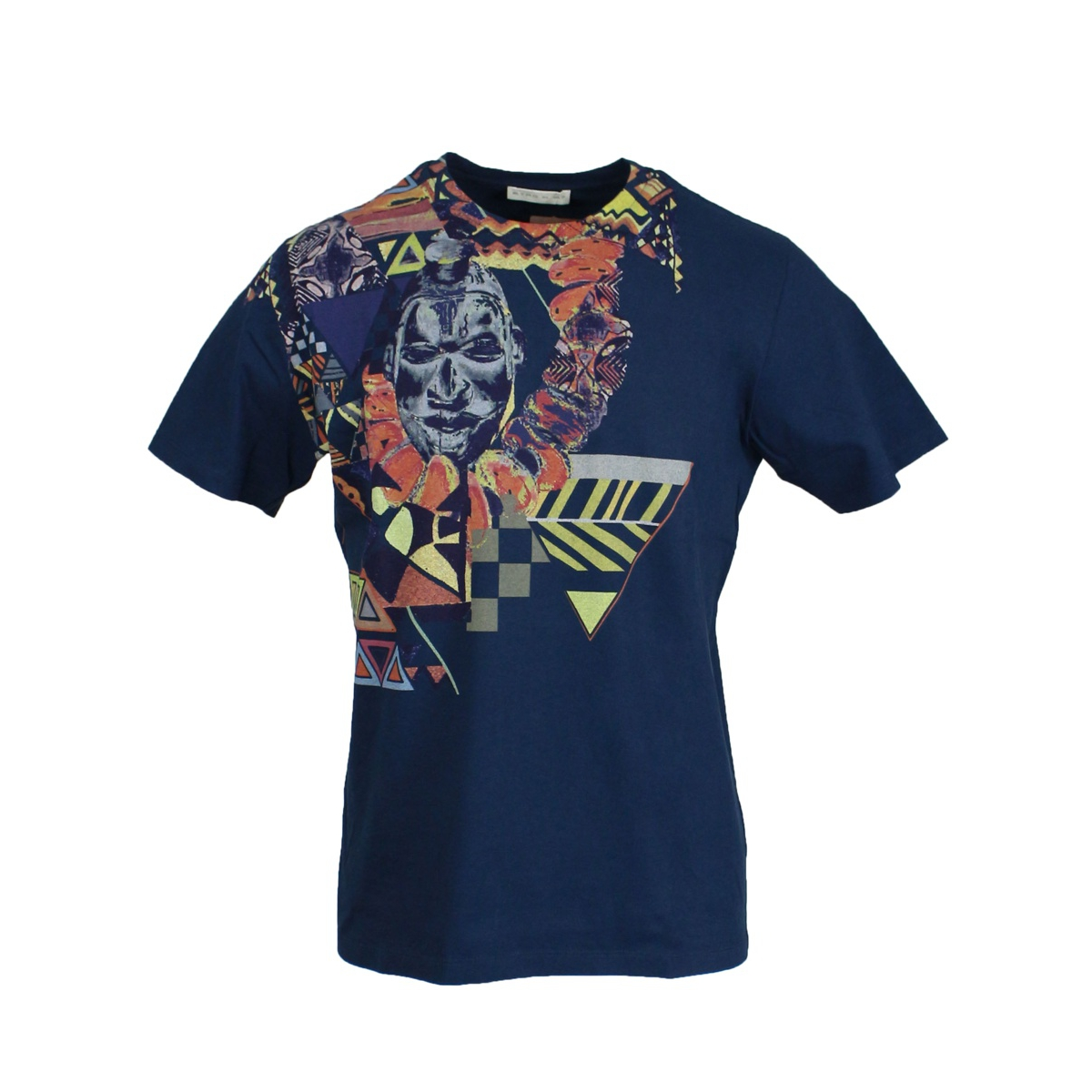 Regular t-shirt with print Blue Etro