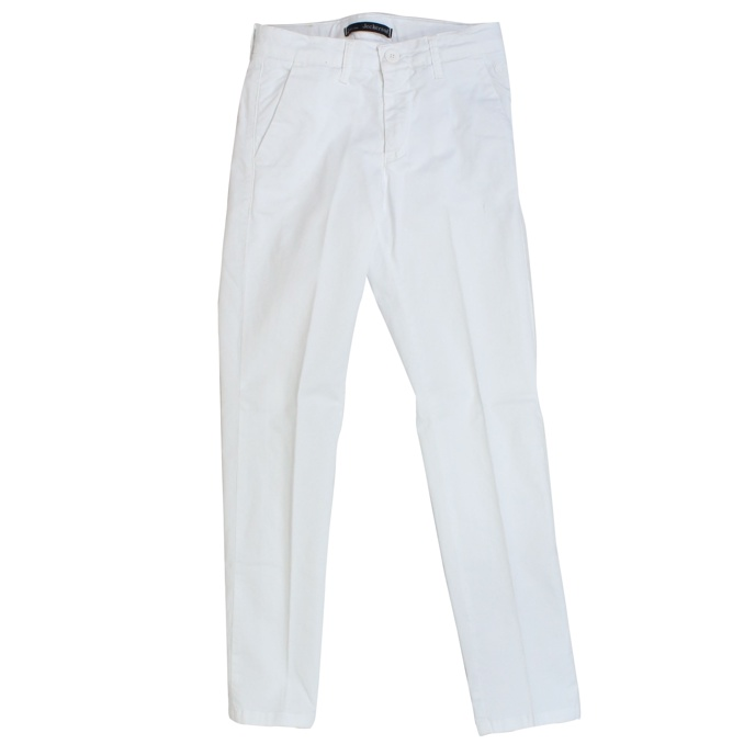 Stretch trousers with america pockets White Jeckerson