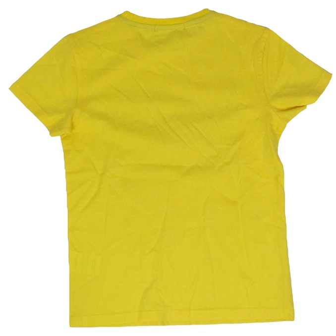 Front logo print t-shirt Yellow Jeckerson