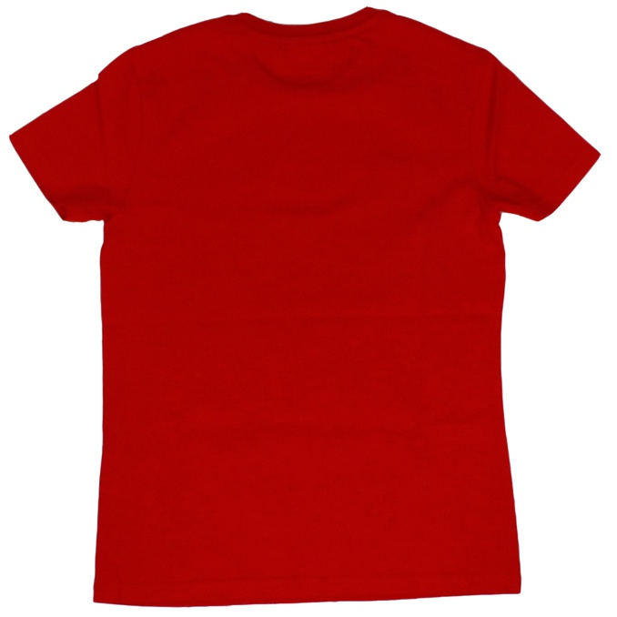 Front logo print t-shirt Red Jeckerson