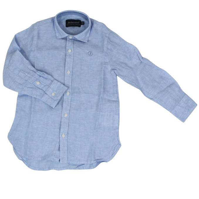 Linen shirt with logo embroidery Heavenly Jeckerson