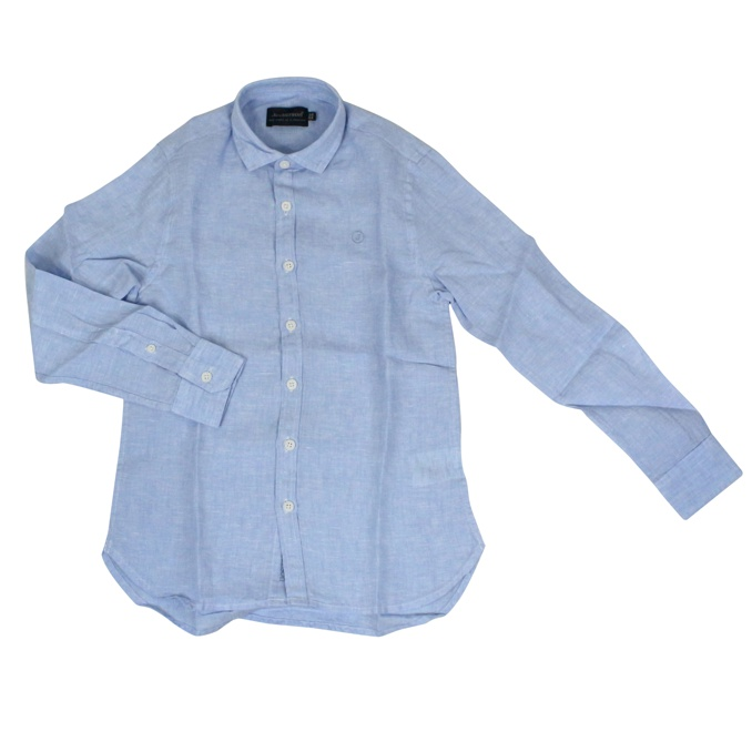 Linen shirt with embroidered logo Heavenly Jeckerson