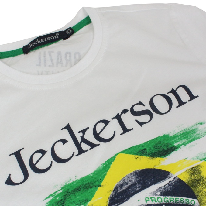 Short sleeve t-shirt with print White Jeckerson
