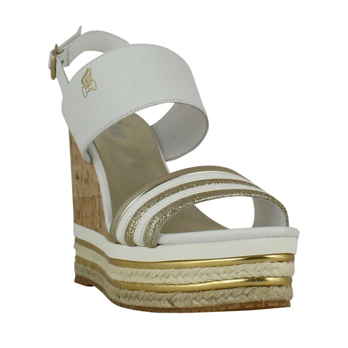 H442 Wedge sandal White Hogan