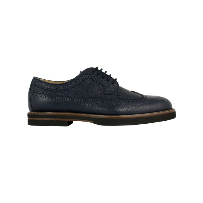 Base 53 light casual textured leather Blue Tod's