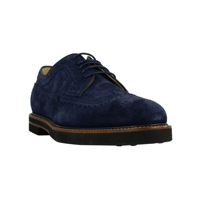 Fondo 53 light casual suede Blue Tod's