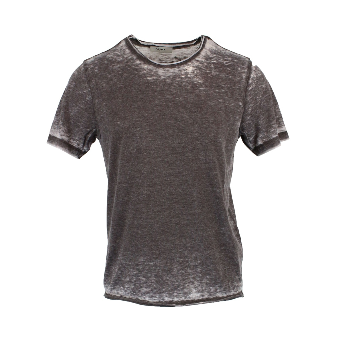 Cotton blend crew neck T-shirt Moro ALPHA STUDIO