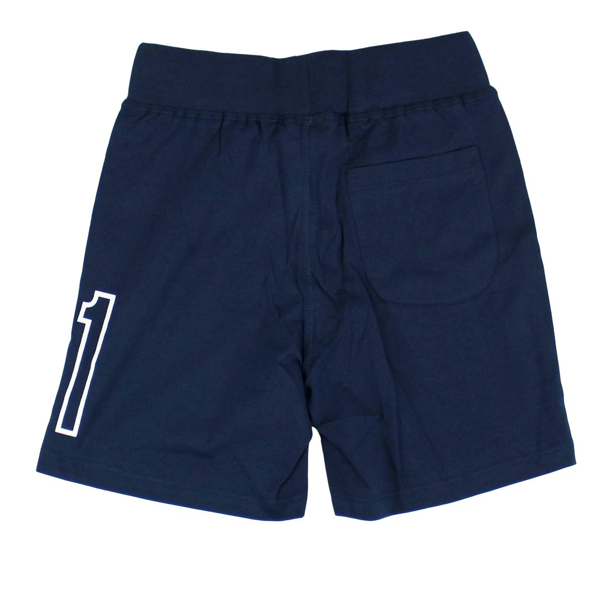 Shorts with side logo Blue Bikkembergs