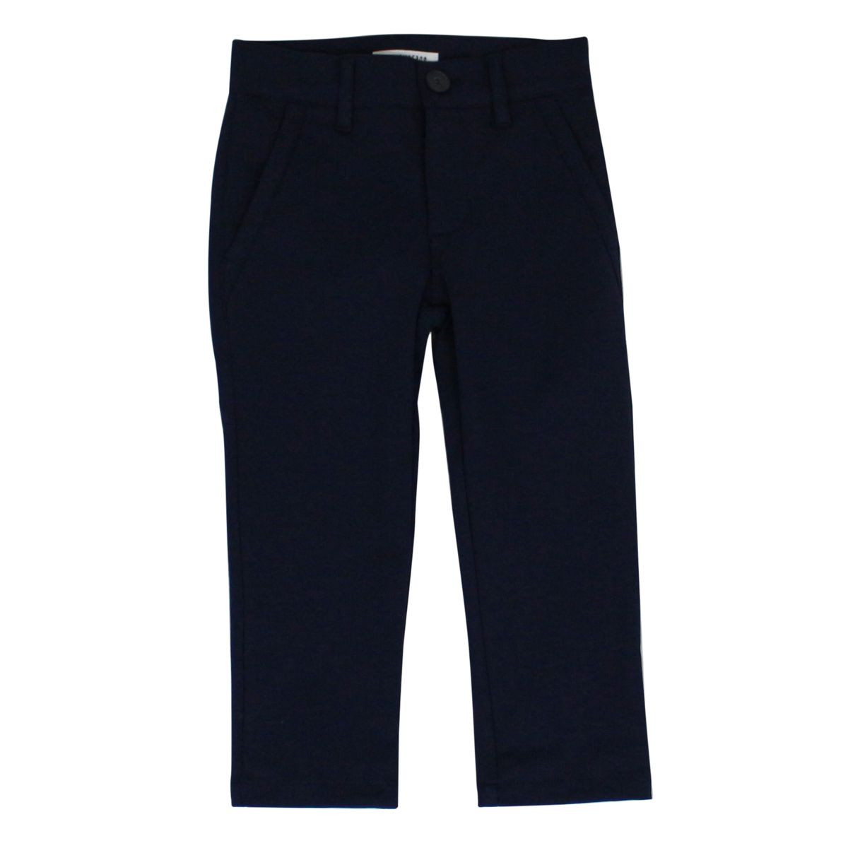 Slim cotton trousers Blue Bikkembergs