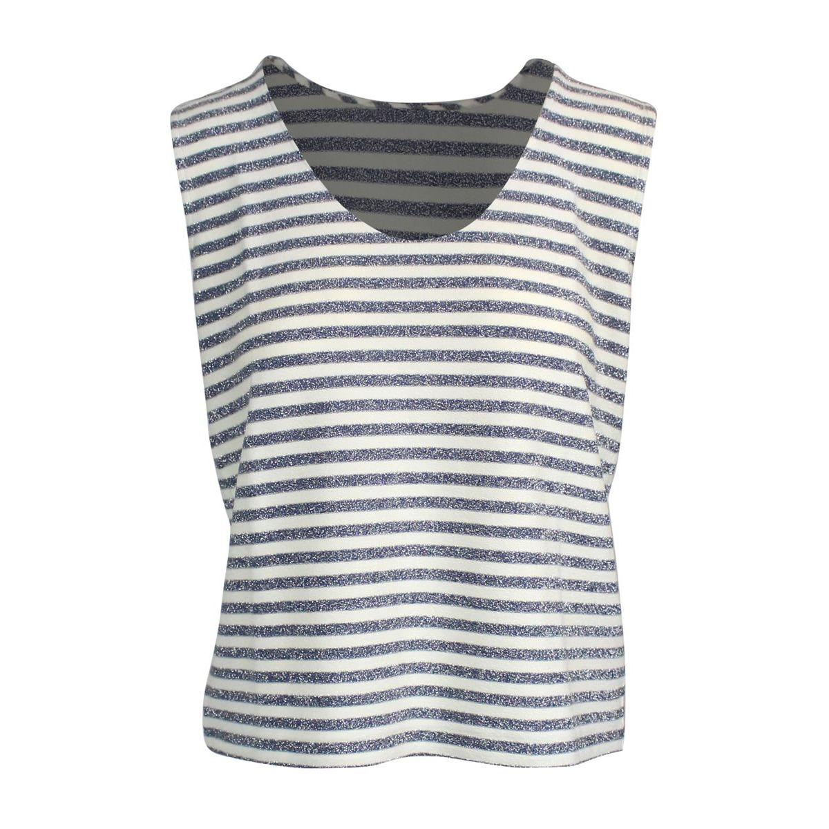 Striped tank top Blue GRAN SASSO
