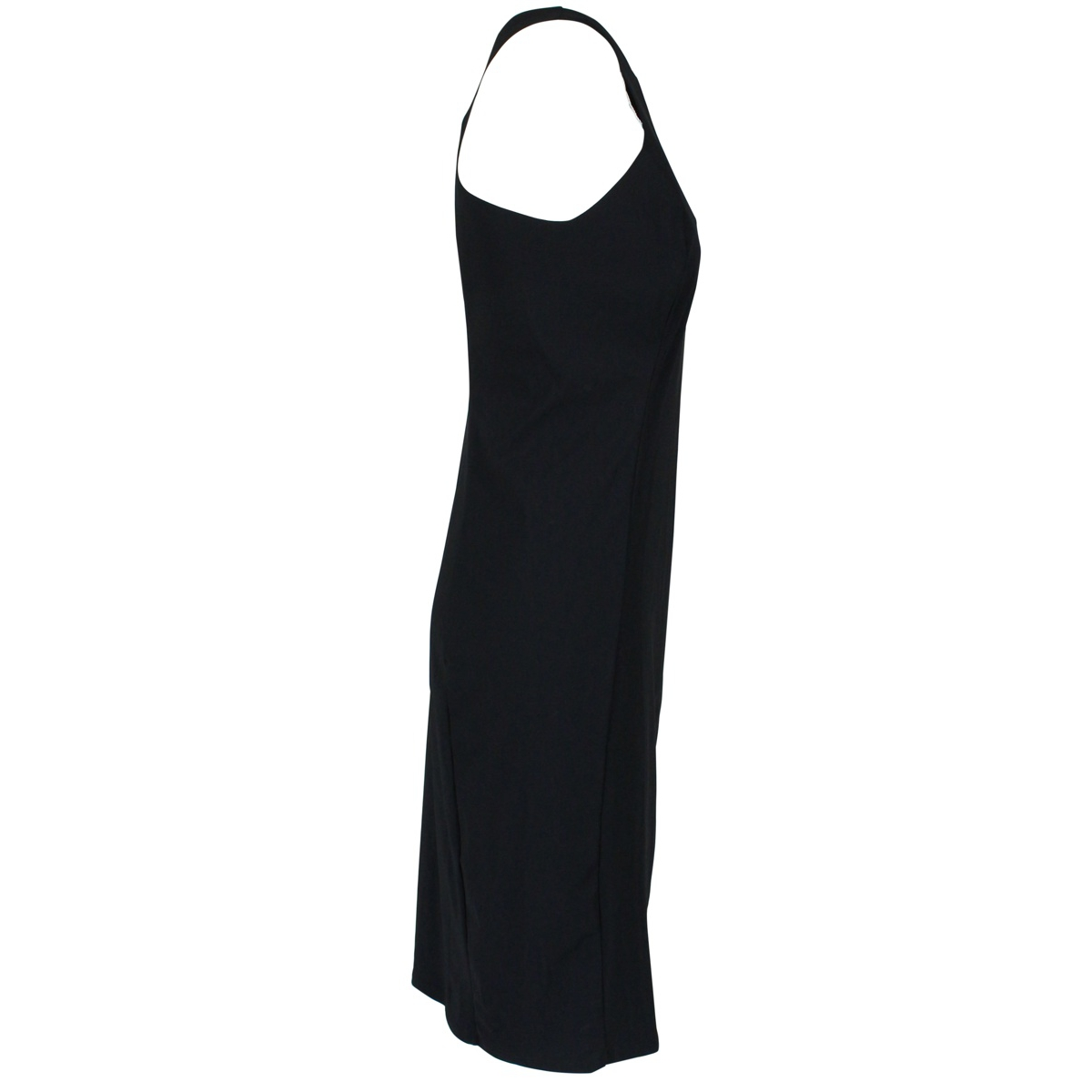 Slim round neck sheath dress Black Patrizia Pepe