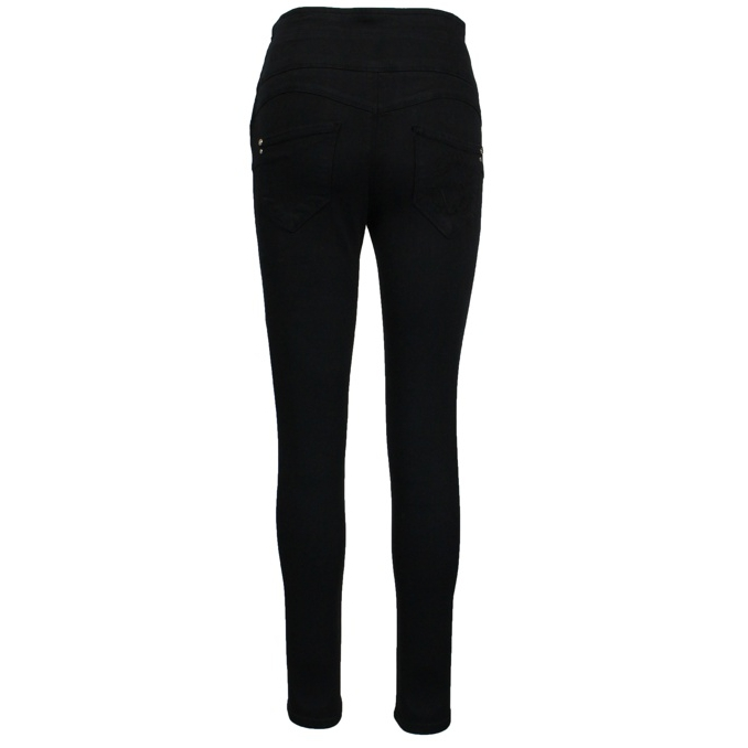Slim high waist jeggings Black Patrizia Pepe