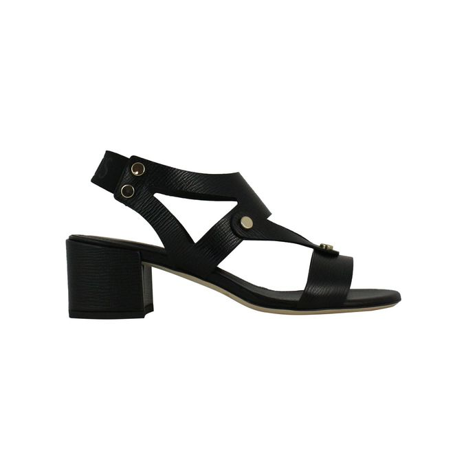 Sandal with heel T50 Black Tod's