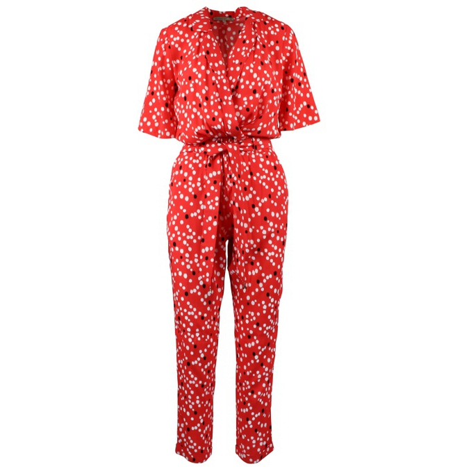 Suit with bell sleeves Red Patrizia Pepe