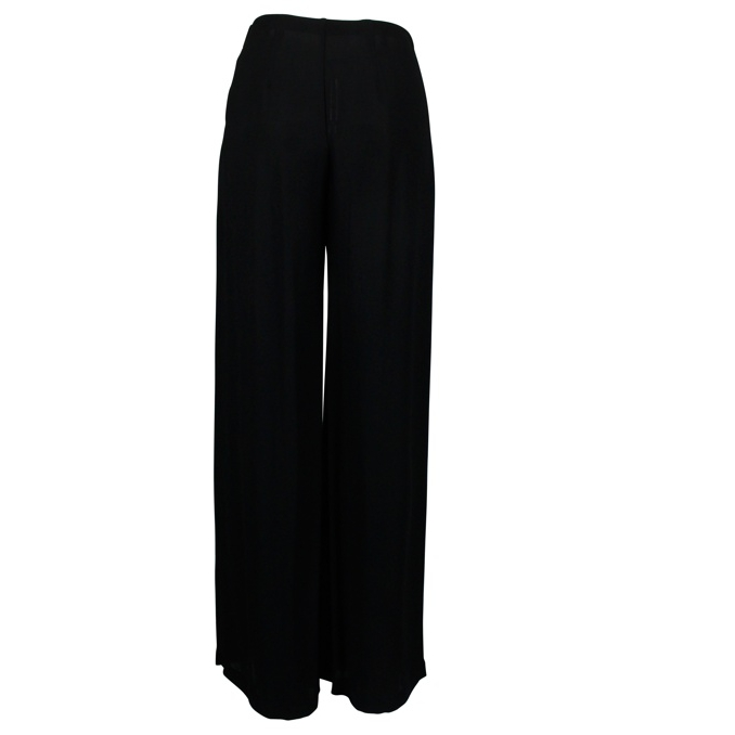 Pleated palace trousers Black Patrizia Pepe