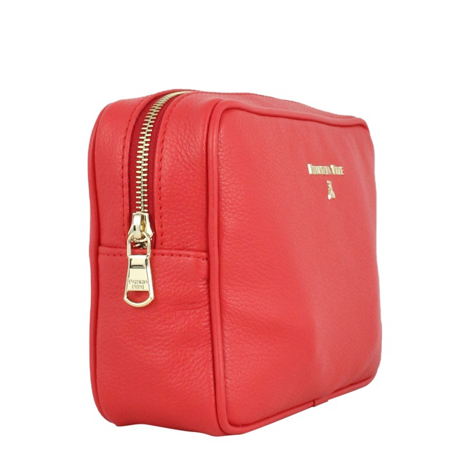 Beauty case in calfskin Coral Patrizia Pepe
