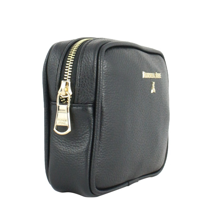 Leather makeup container Black Patrizia Pepe