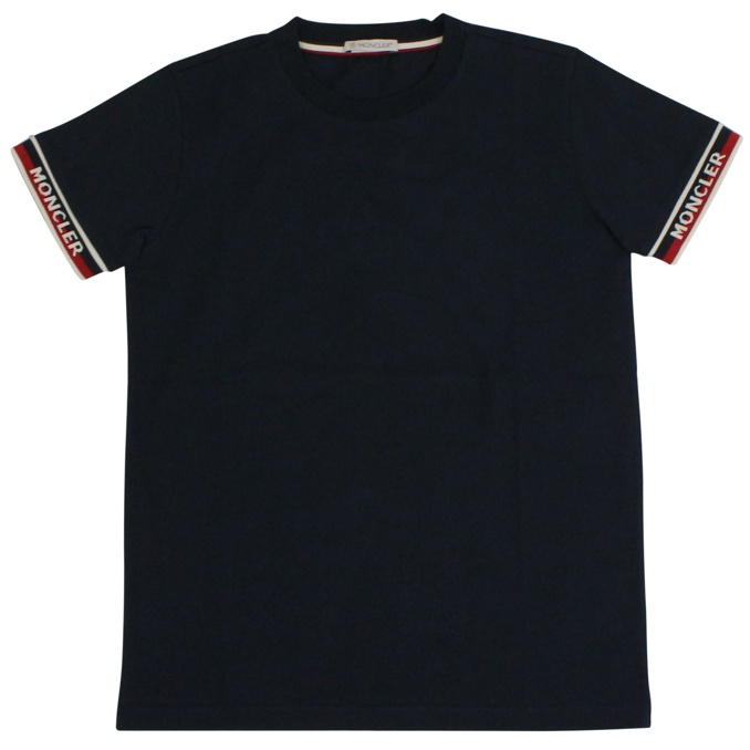 T-shirt with perfect sleeves Night blue Moncler