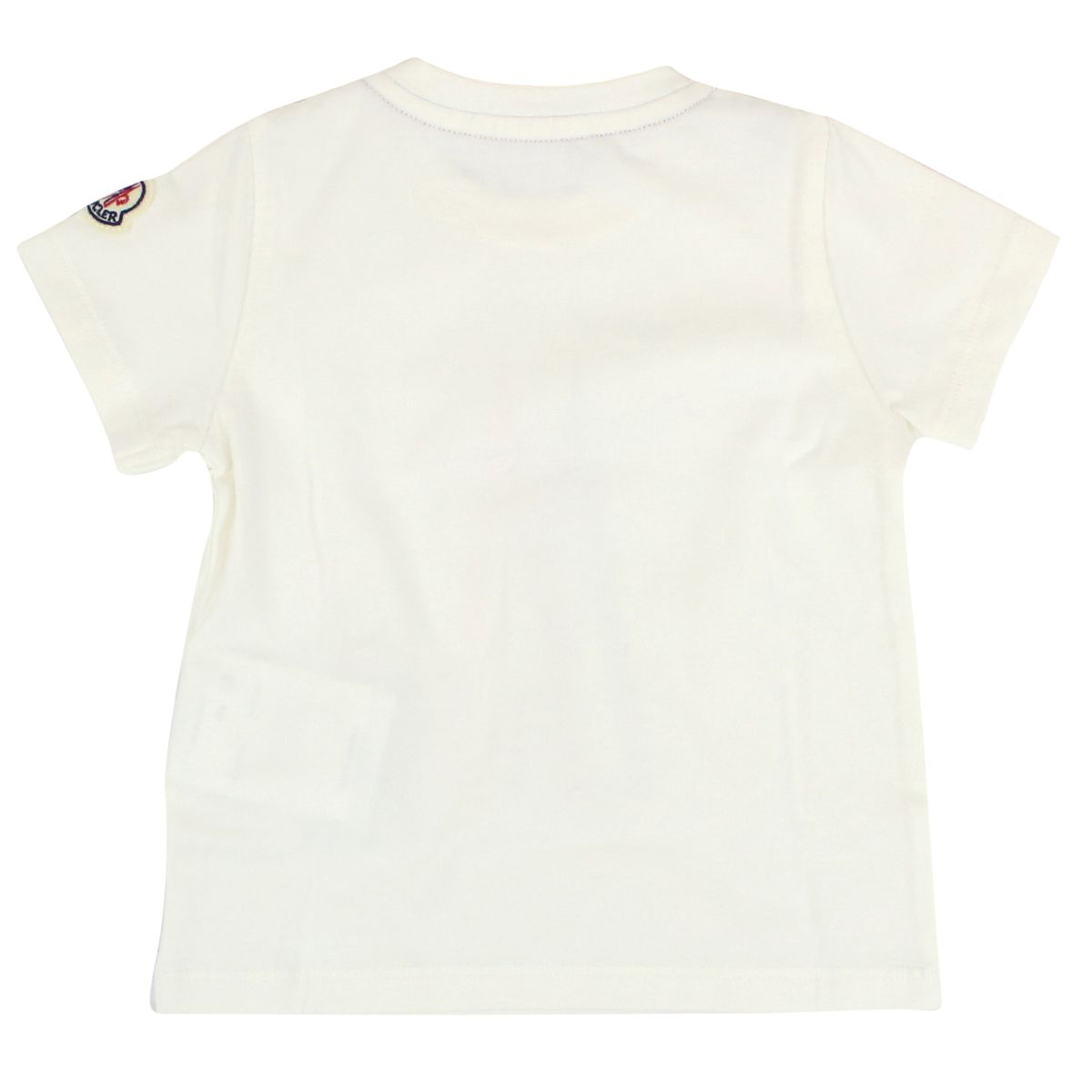 T-shirt with elastic logo White Moncler