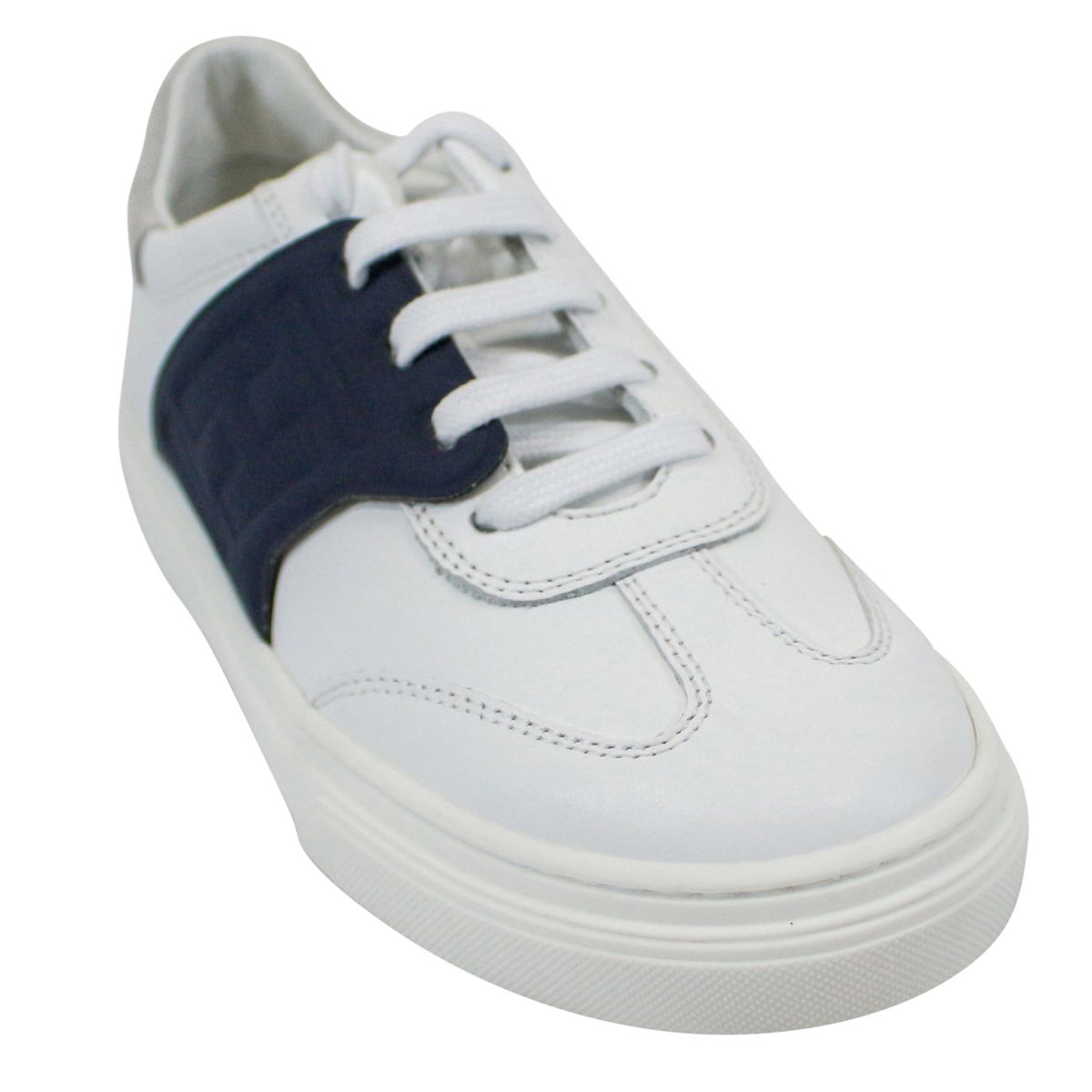 Sneakers with contrasting band White Hogan