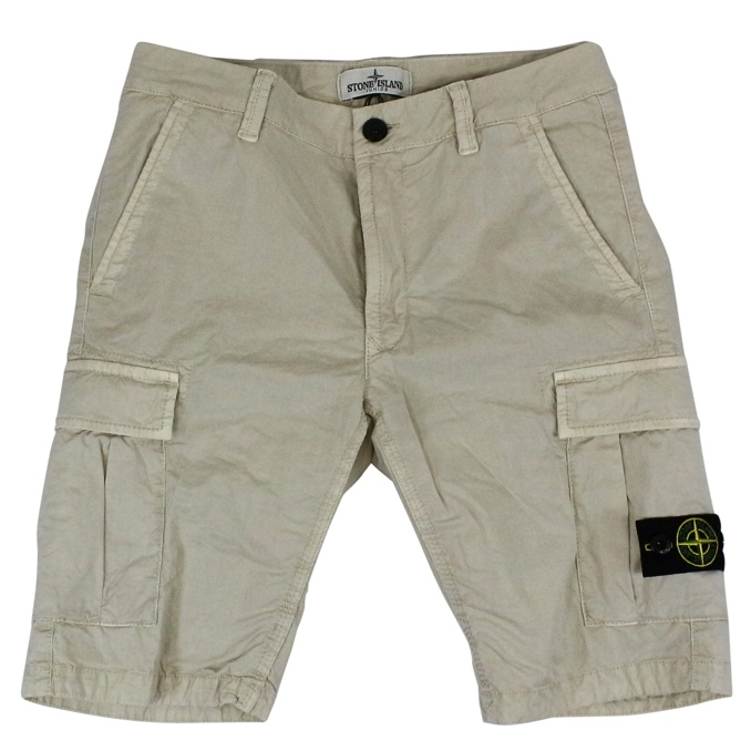 Bermuda shorts with pockets Stucco Stone Island