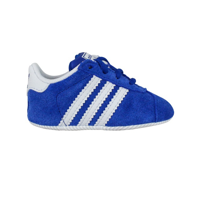 Crib Gazelles Royal / white ADIDAS