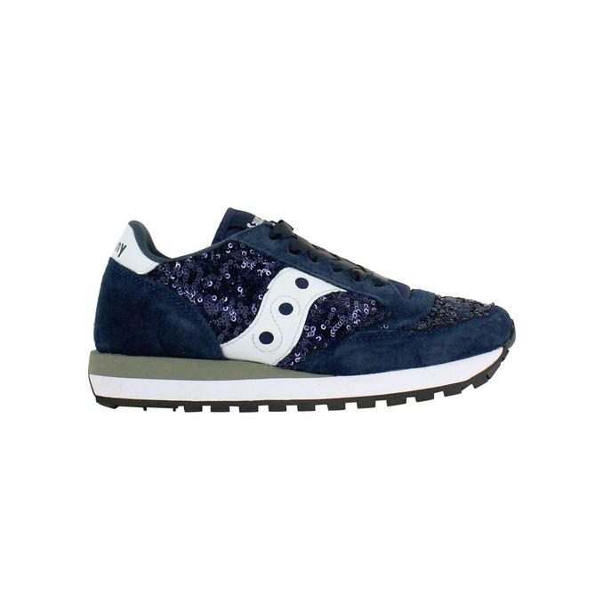 1044 Jazz sequins Blue Saucony