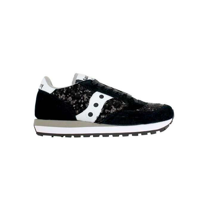 2044 Jazz Sequins Black Saucony