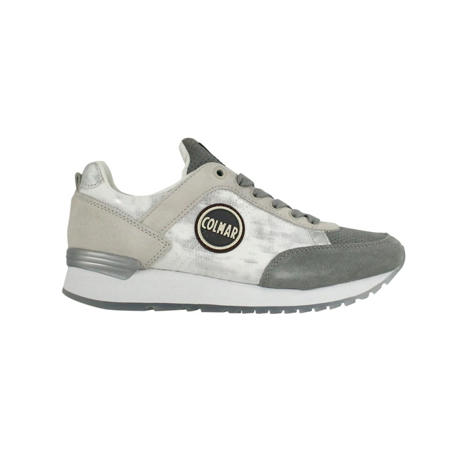 Travis Prime sneakers White / gray COLMAR SHOES