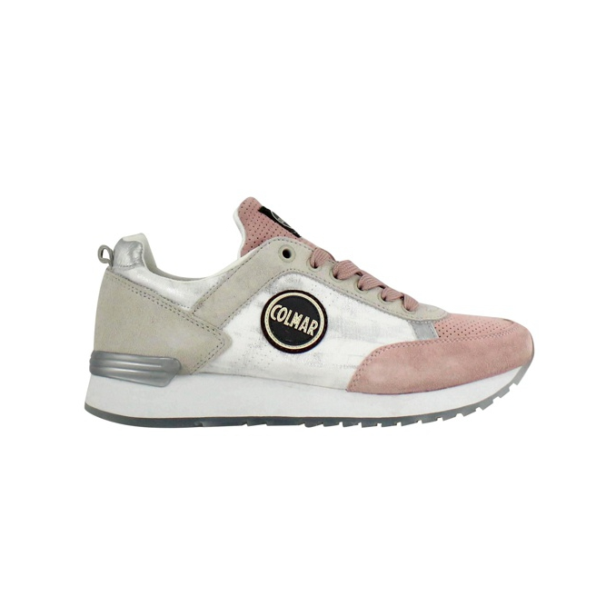 Travis Prime sneakers White / pink COLMAR SHOES