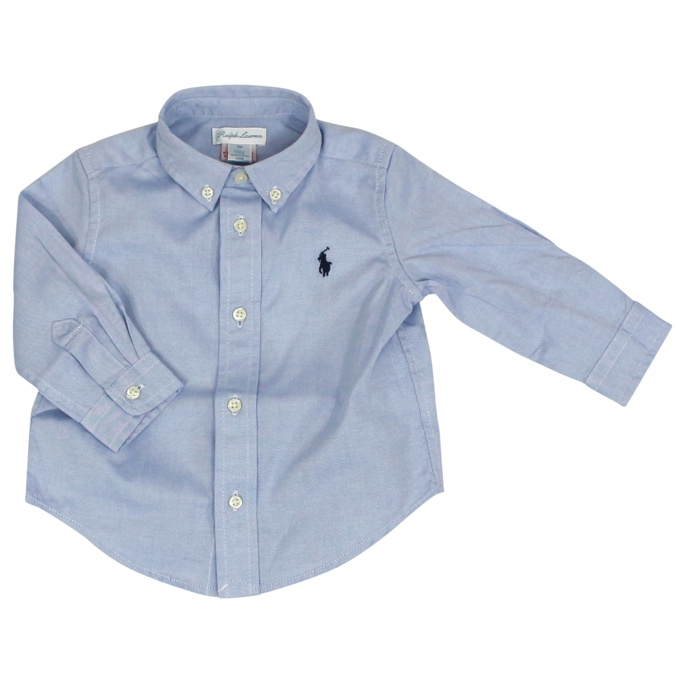 Cotton shirt with logo Heavenly Polo Ralph Lauren