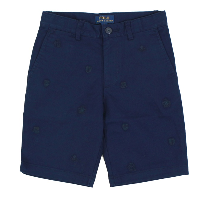 Shorts in soft cotton twill Navy Polo Ralph Lauren