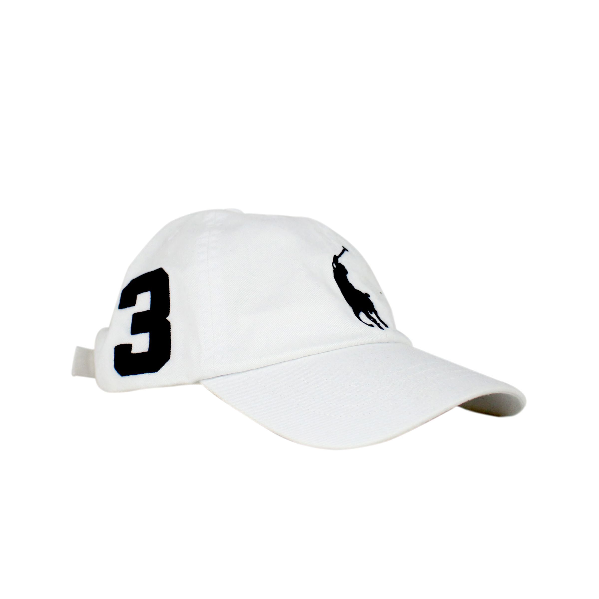 0c97a523ef2cc ... Cap with contrasting logo embroidery White Polo Ralph Lauren ...