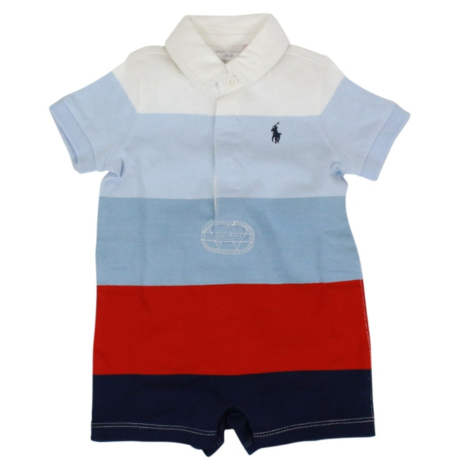 Set in cotone con pleuche Multicolor Polo Ralph Lauren