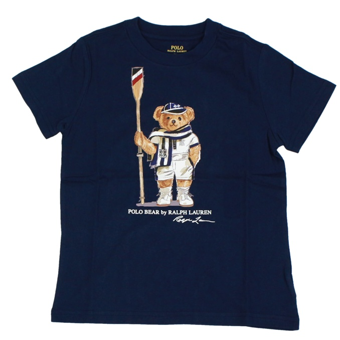 Bear print t-shirt Blue Polo Ralph Lauren