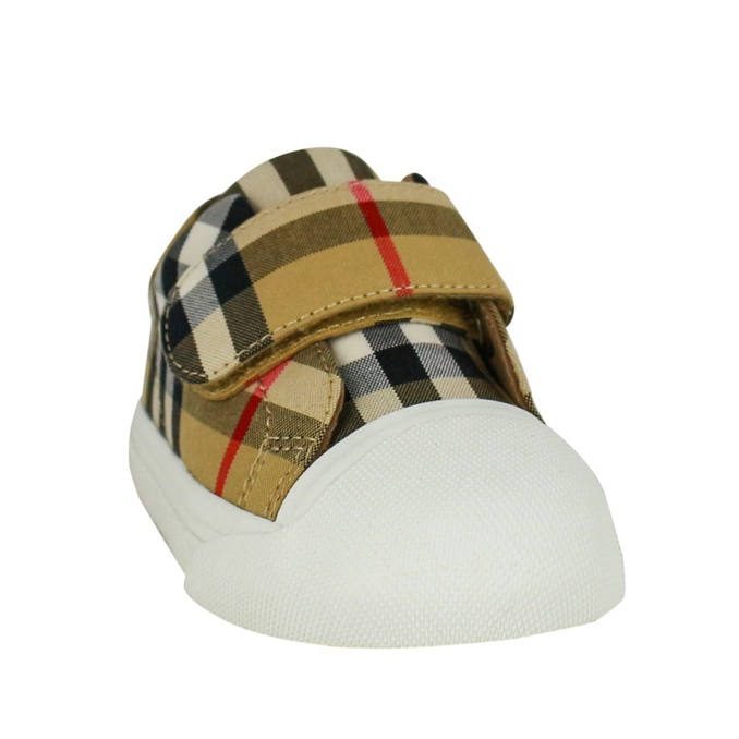 Check pattern sneakers Beige check Burberry