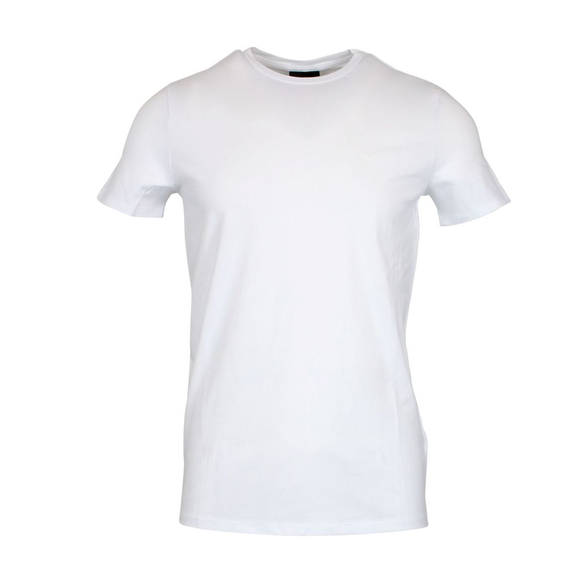 Logo stretch cotton t-shirt White Emporio Armani
