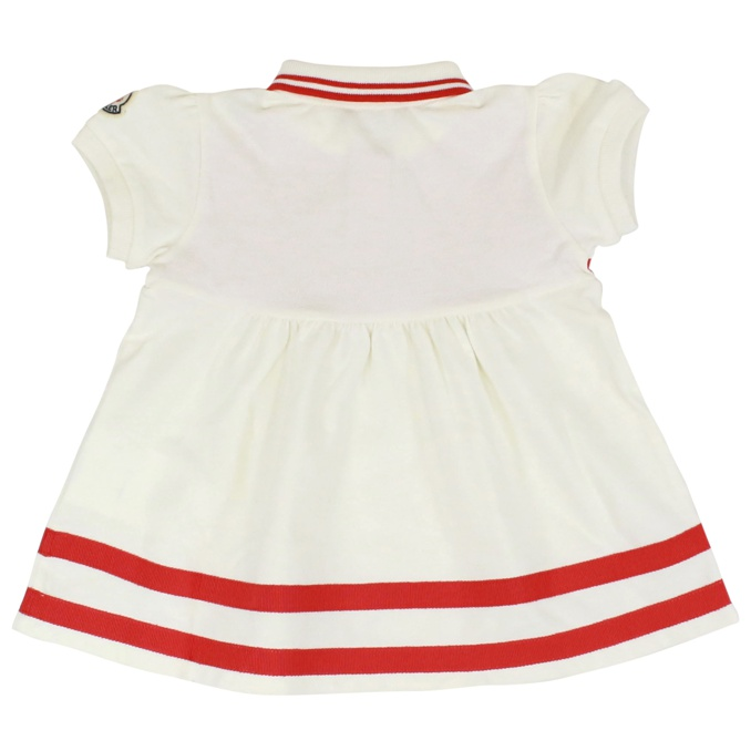 Balloon sleeve dress Red white Moncler