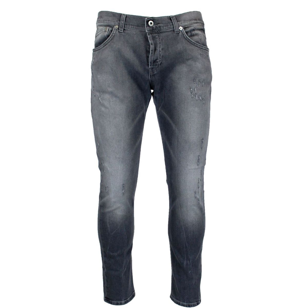 Mius slim jeans with rips Grey Dondup