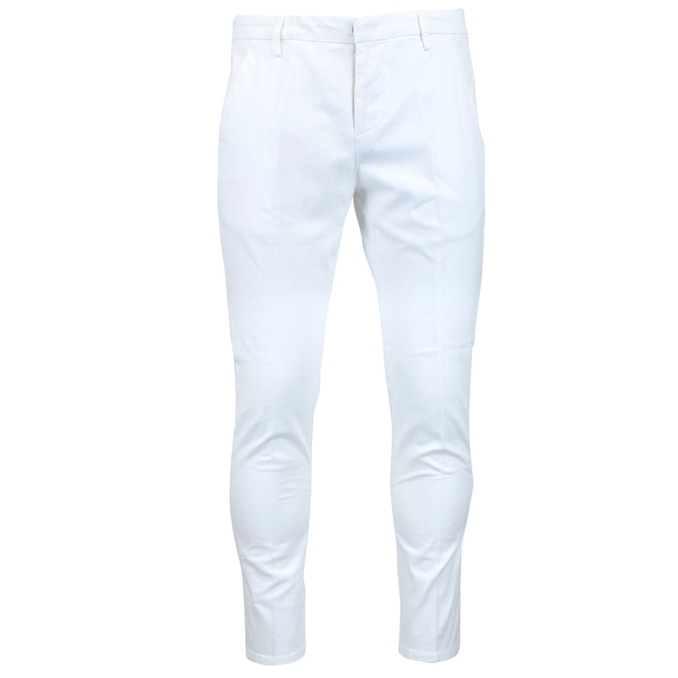 Alfredo trousers with america pocket White Dondup