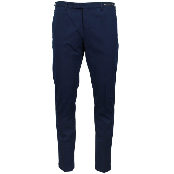 Alfredo trousers with america pocket Blue Dondup