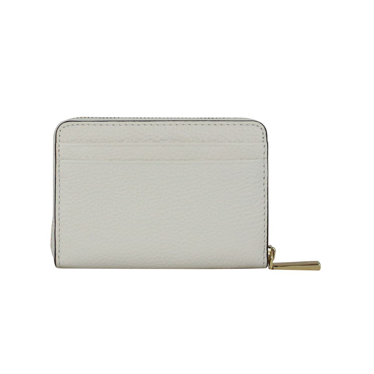 Document holder with logo Optical white Michael Kors