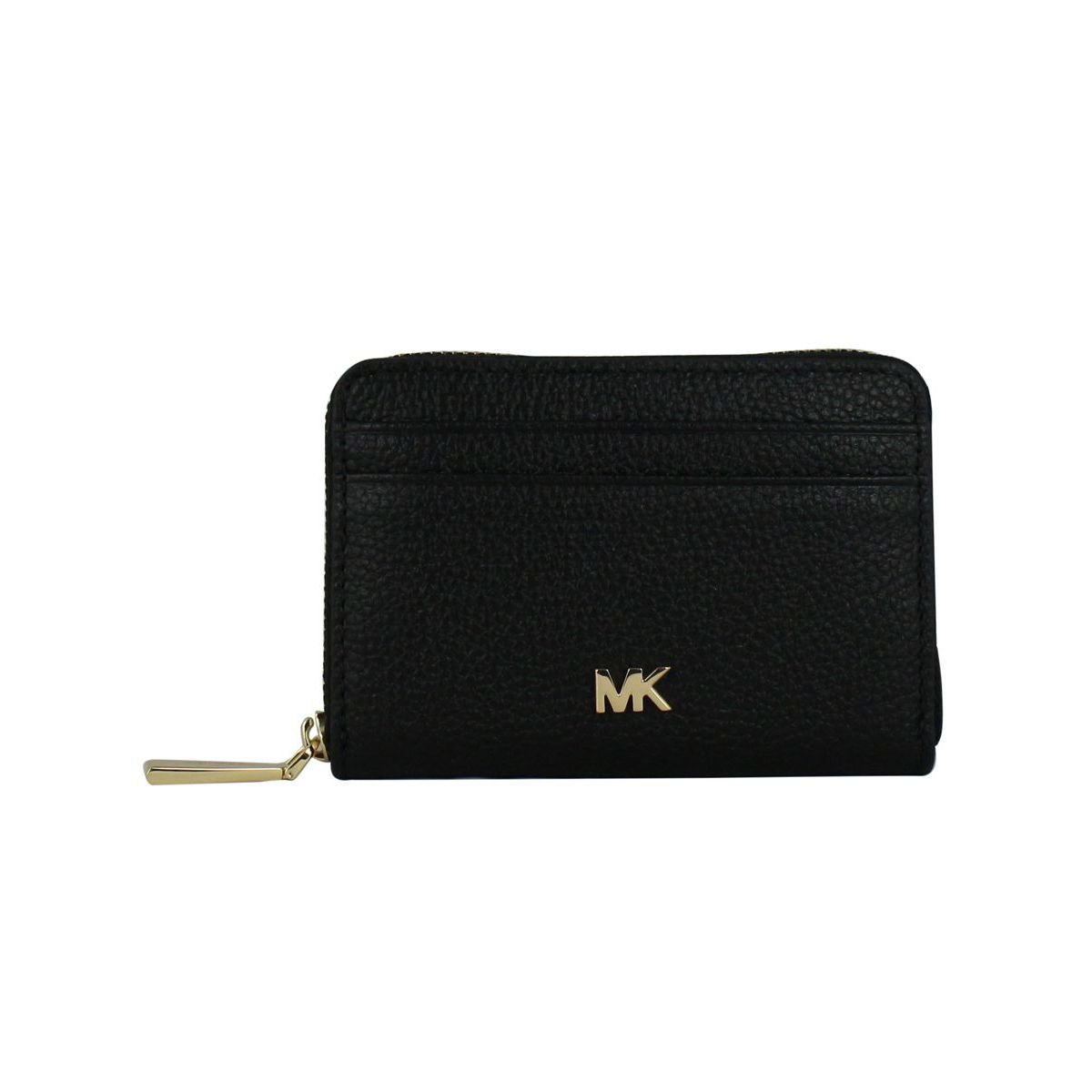 Document holder with logo Black Michael Kors