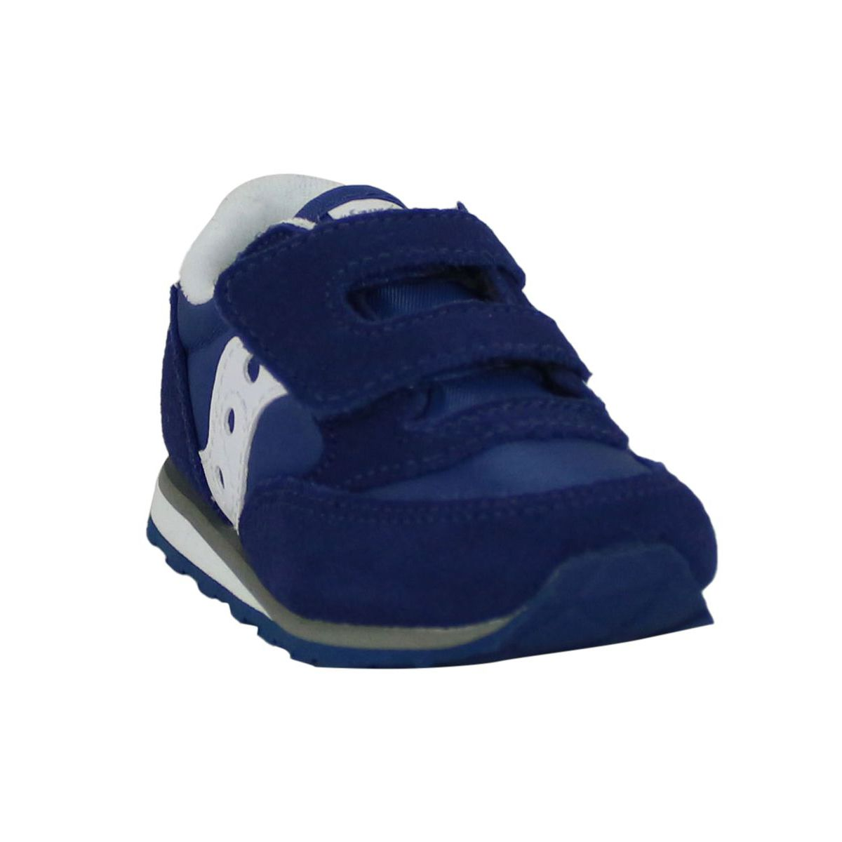 Jazz or baby sneakers with rips Blue Saucony