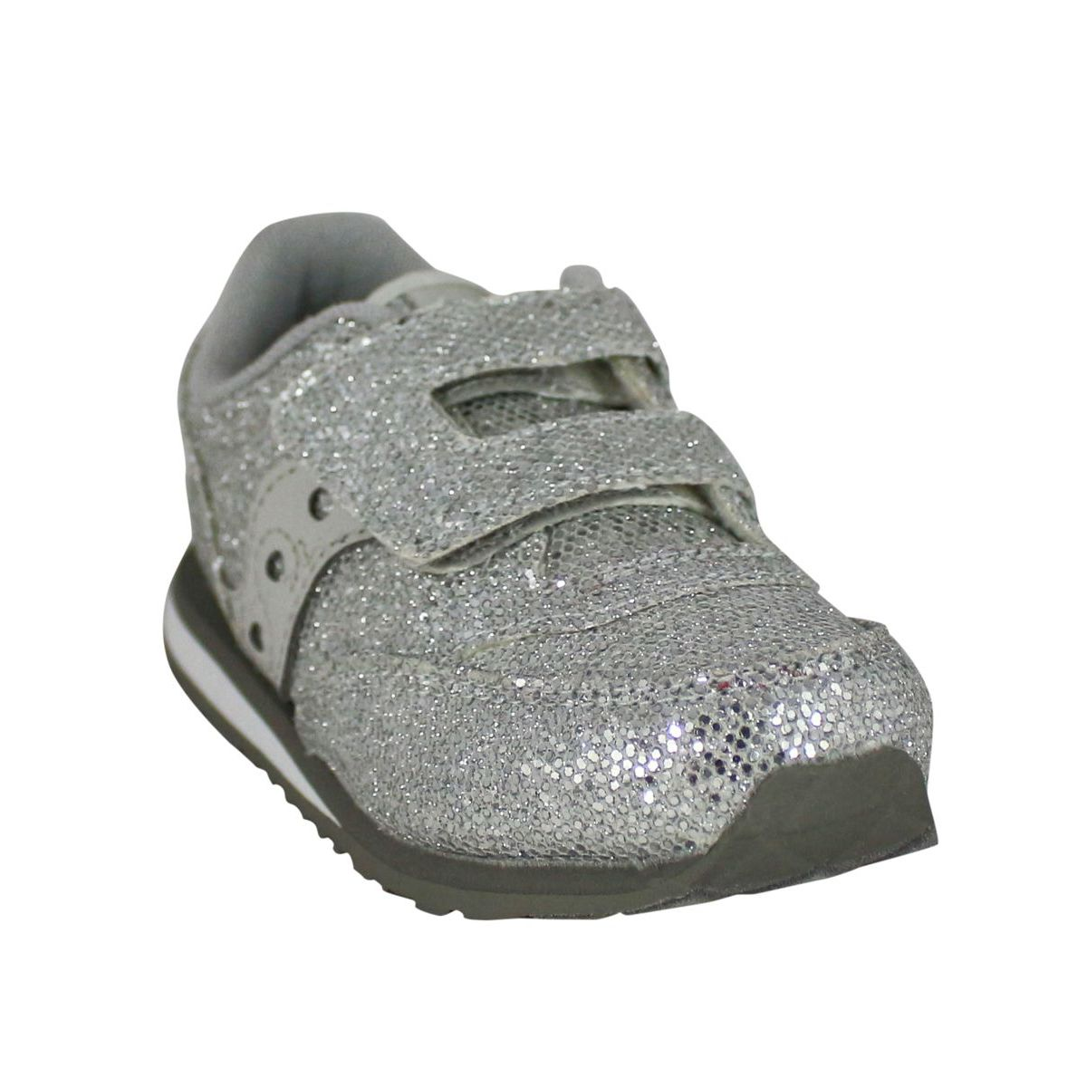 Glittered sneakers with traps Silver Saucony