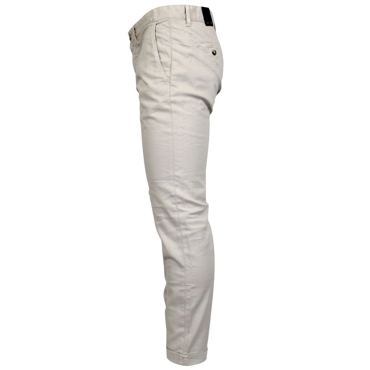 Stretch trousers with america pocket Beige Jeckerson