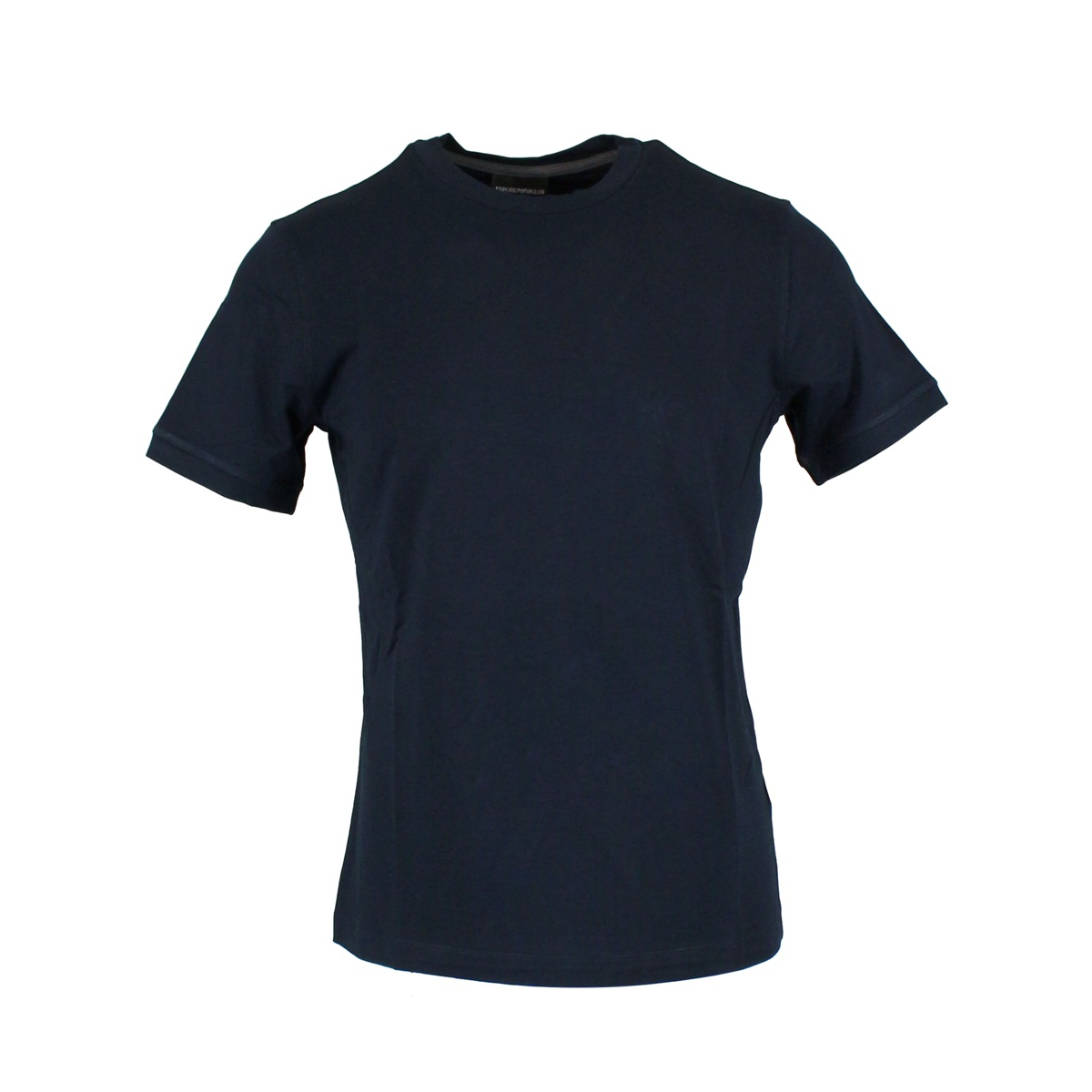 T-shirt in stretch viscose Navy Emporio Armani