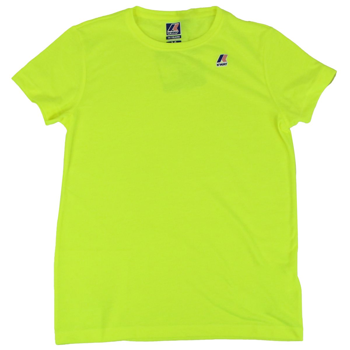 Le Vrai Edouard T-shirt Fluo yellow K-Way