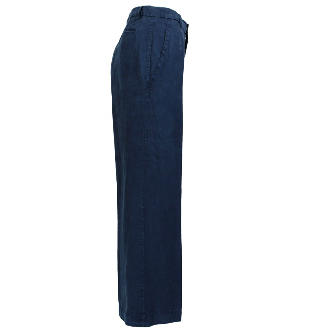 Linen blend trousers Blue Jeckerson
